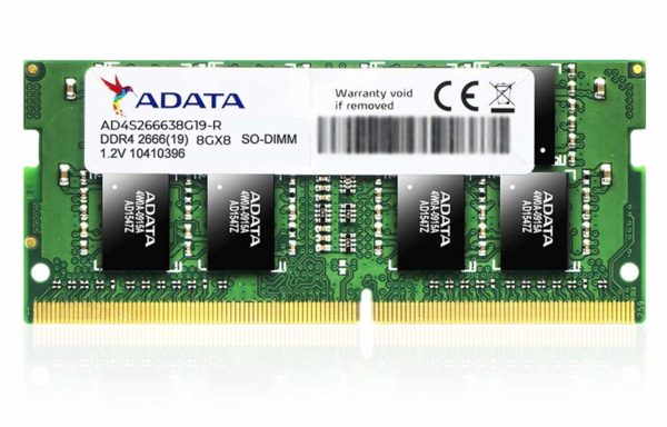 ADATA Premier 8GB DDR4 2666Mhz SO-DIMM Memory Module for Laptop