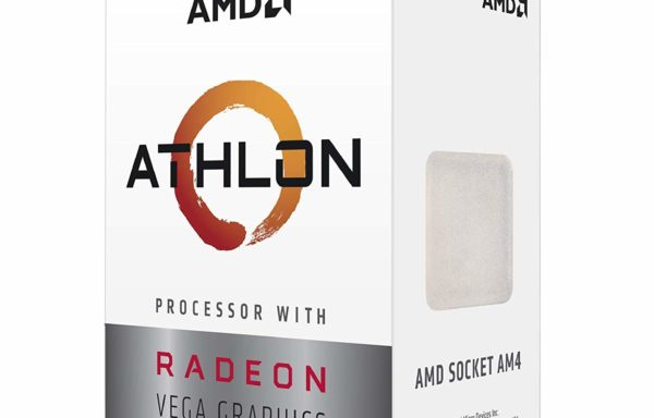AMD Athlon 200GE 2-Core, 4-Thread, 3.2GHz AM4 Socket Desktop Processor with Radeon Vega 3 Graphics