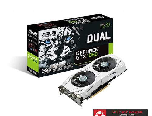 ASUS Dual GTX 1060 3GB best eSports Gaming Graphic Card DUAL-GTX1060-3G