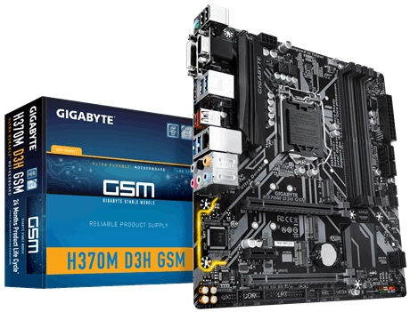 Gigabyte H370 Ultra Durable Motherboard