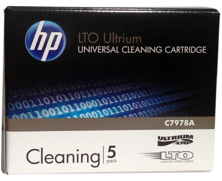 HP LTO cleaning Tape Drive