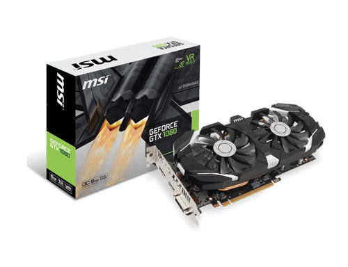 MSI GeForce GTX 1060 6GT OCV2 Graphic Card