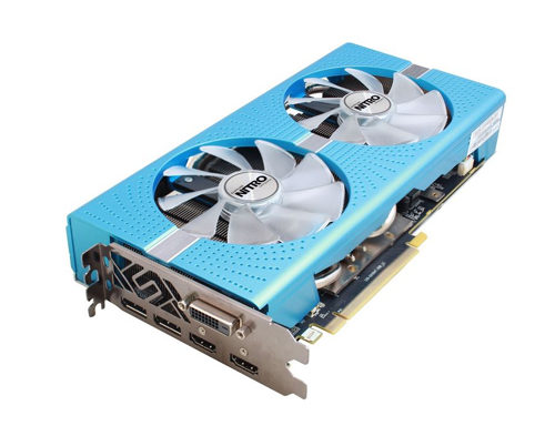 SAPPHIRE NITRO Radeon RX 580 Special Edition 8GB Gaming Graphics Card 11265-21-20G