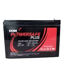 Exide 12V 7 Ah Powersafe Battery