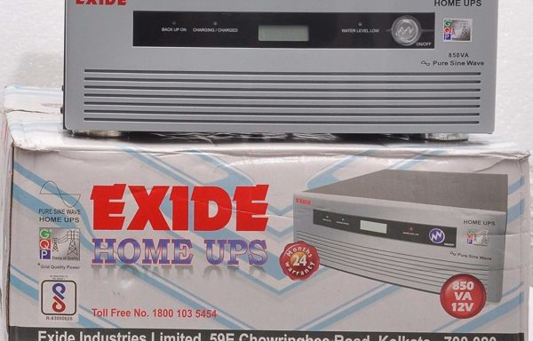Exide 850Va Pure Sinewave Home Ups Inverter – Digital Display